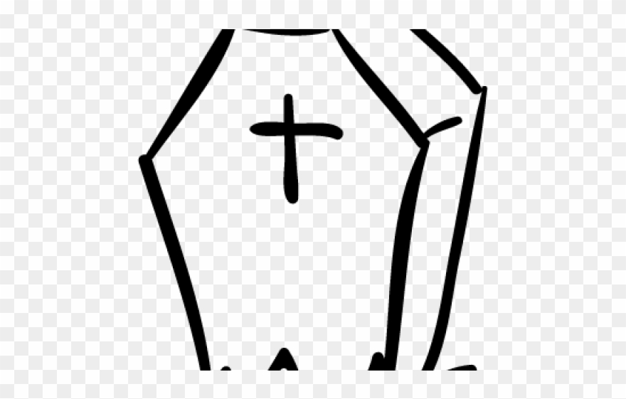 Cross tombstone shape png. Coffin clipart tomb stone