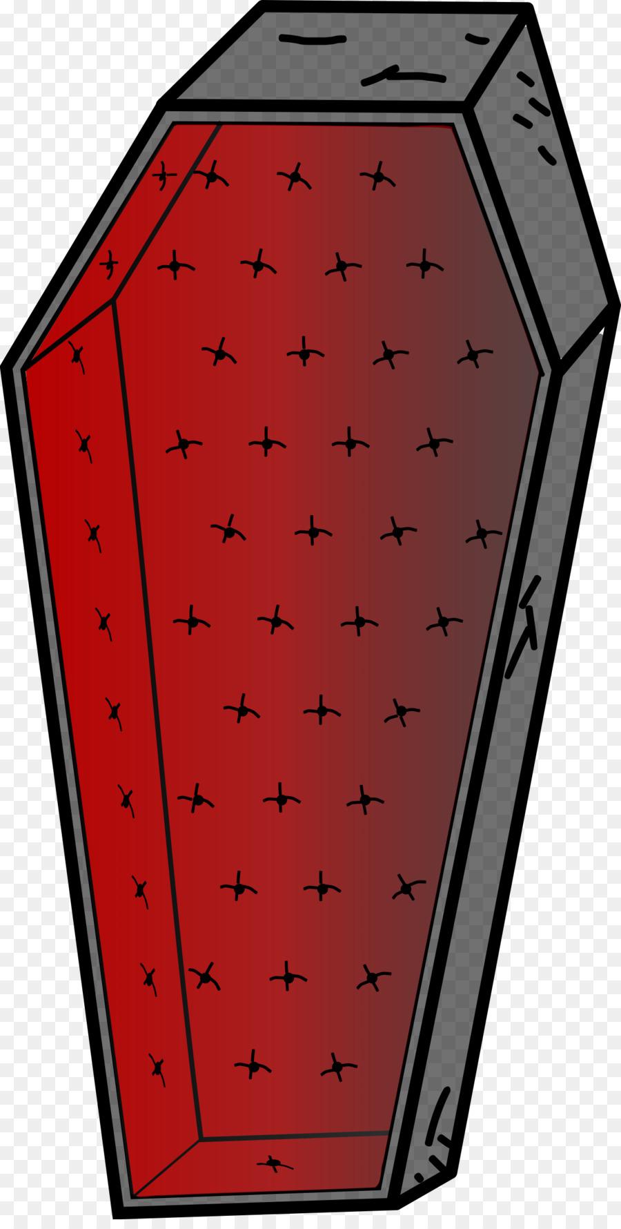 Red illustration pattern . Coffin clipart transparent background