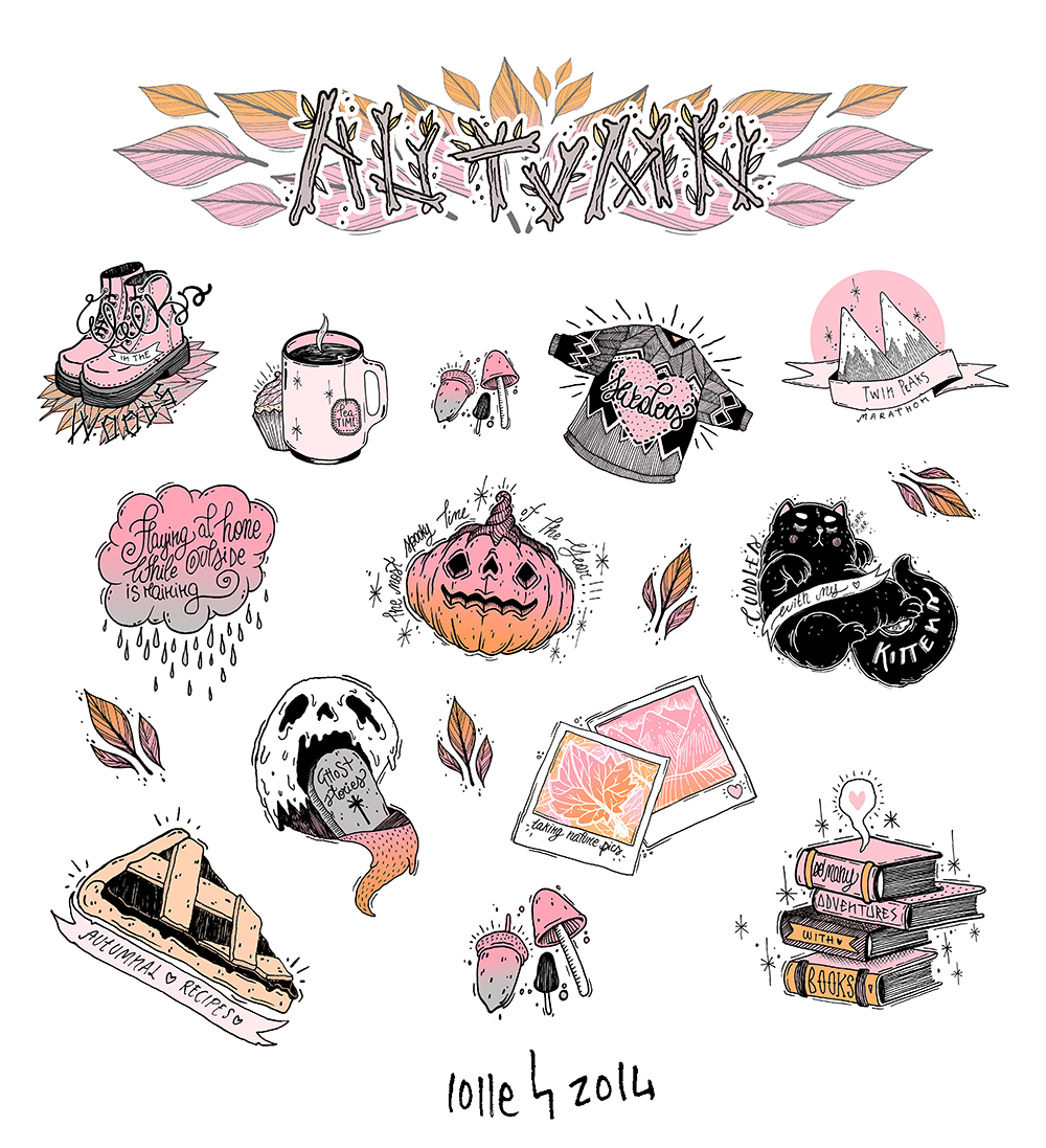 Planets clipart doodle tumblr. Autumn pinterest tattoo drawings