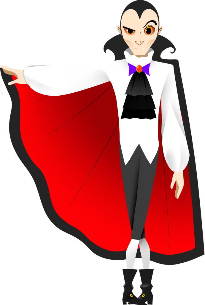 Free pages of to. Dracula clipart vampire boy