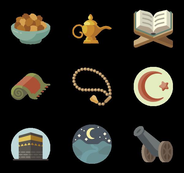 Coffin clipart vector. Islamic icons free ramadan