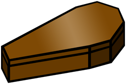 Coffin clipart.