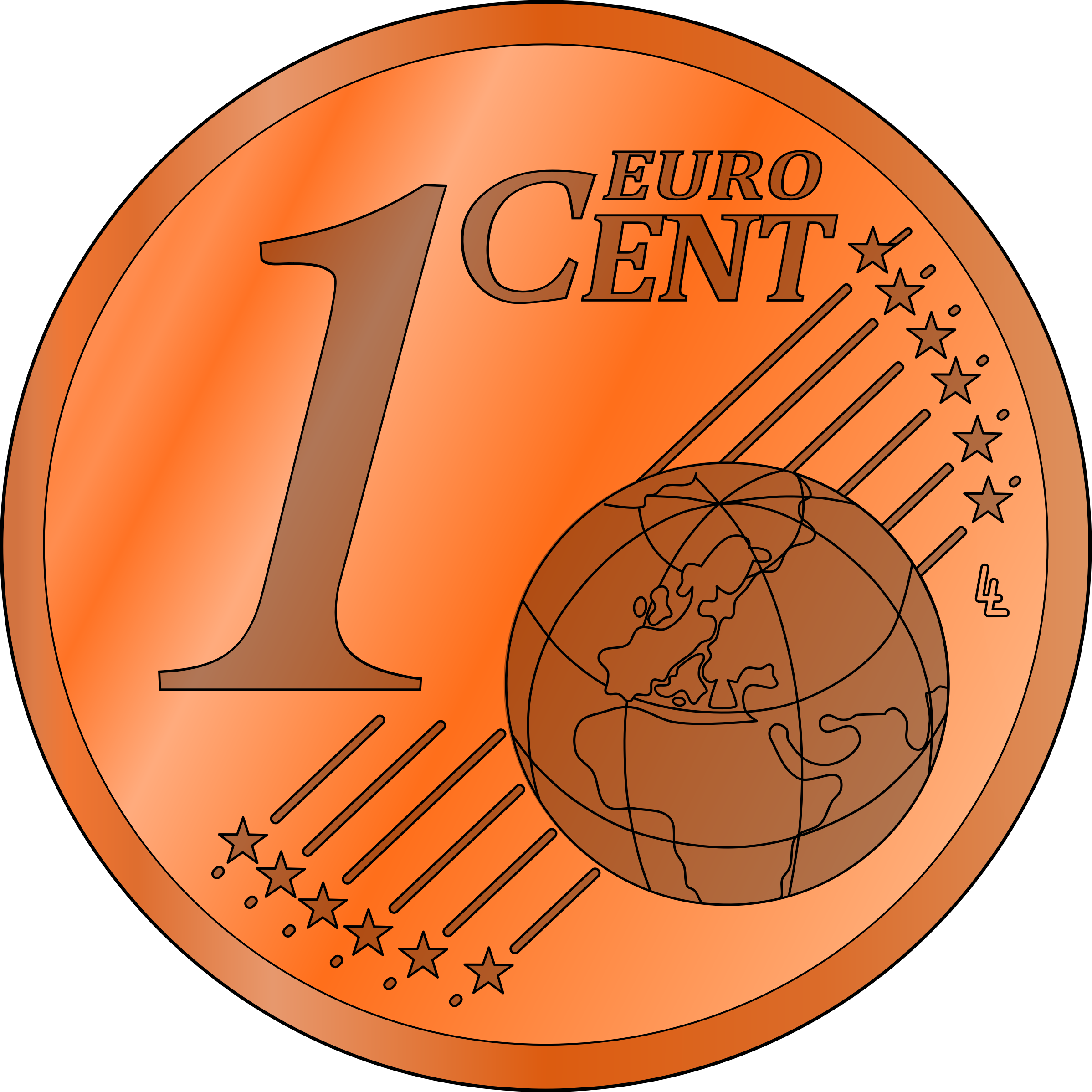 Coin peso free on. Pennies clipart copper penny