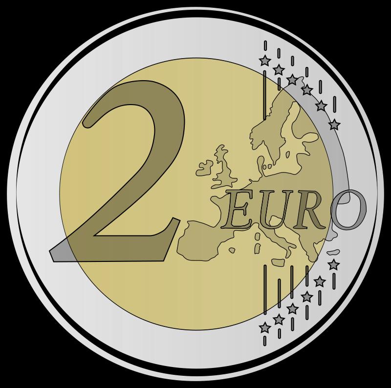 Coin clipart 1 rupee.  collection of euro