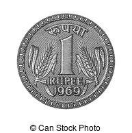 Indian portal . Coin clipart 1 rupee