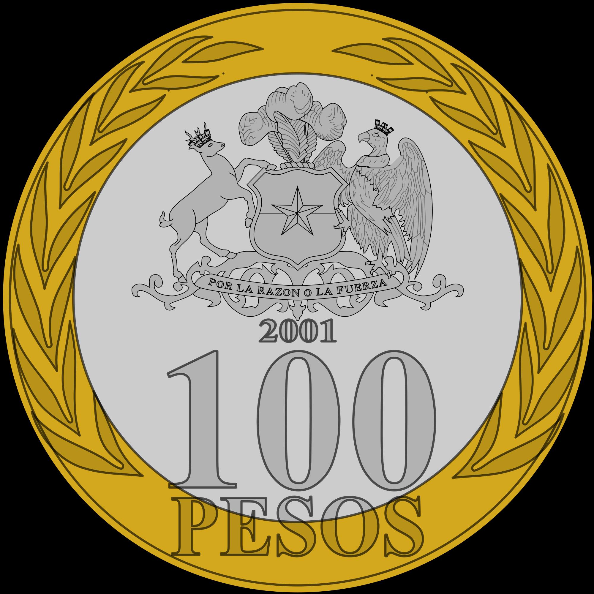 Coin clipart 10 peso. File clp svg wikimedia