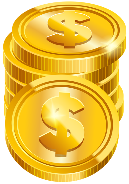 Coins transparent png clip. Coin clipart