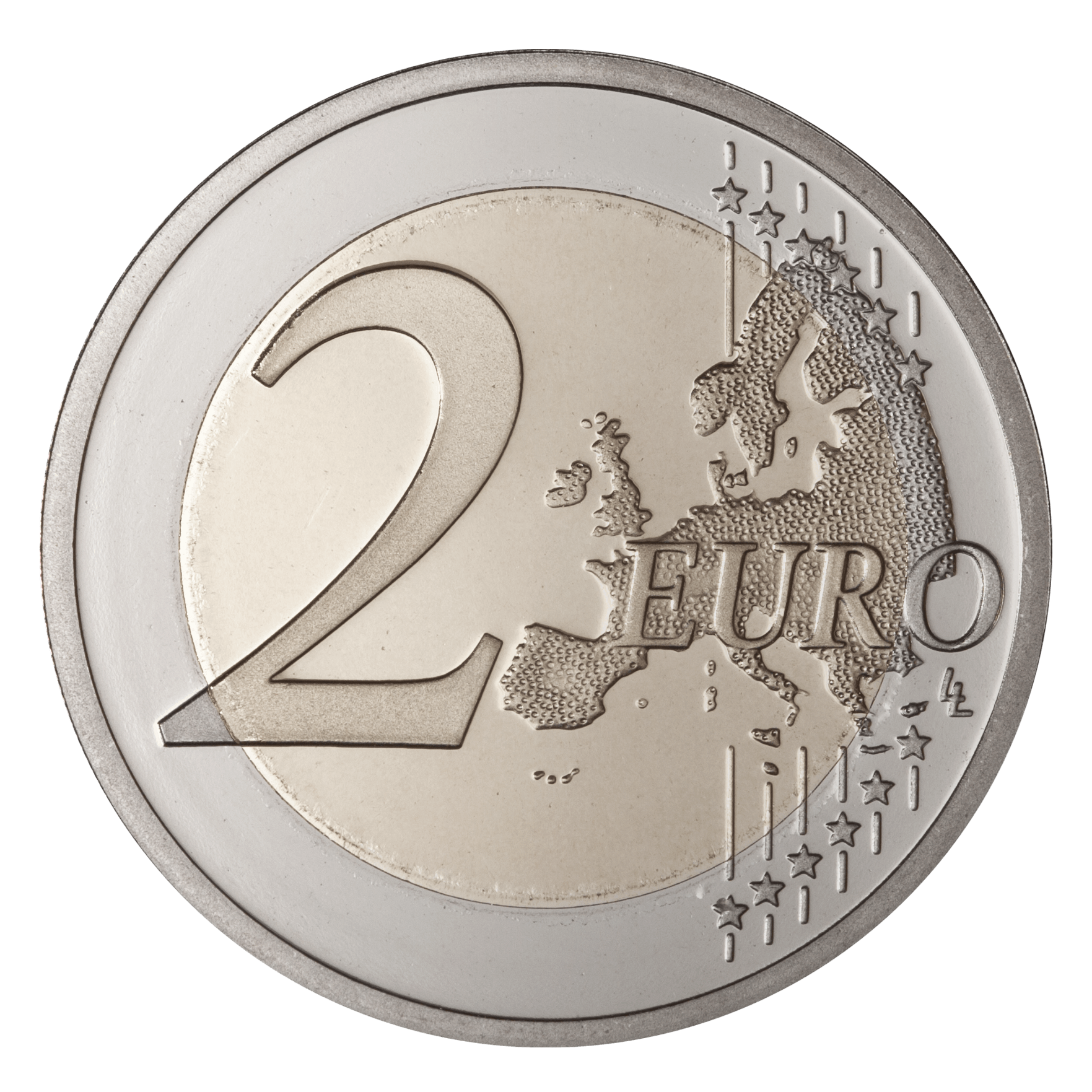 transparent png stickpng. Coin clipart 2 euro