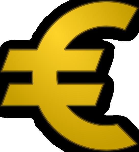 Sign clip art at. Coin clipart 2 euro