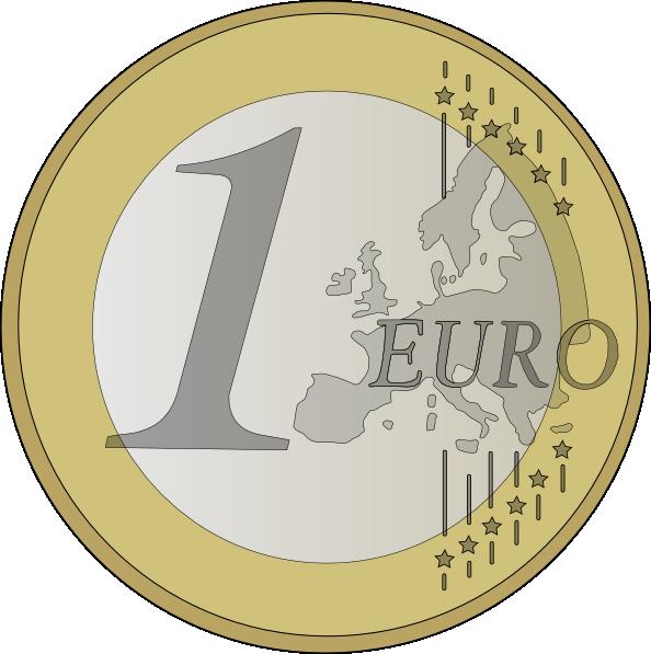 clip art at. Coin clipart 2 euro