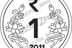 Coin clipart 2 rupee. One station