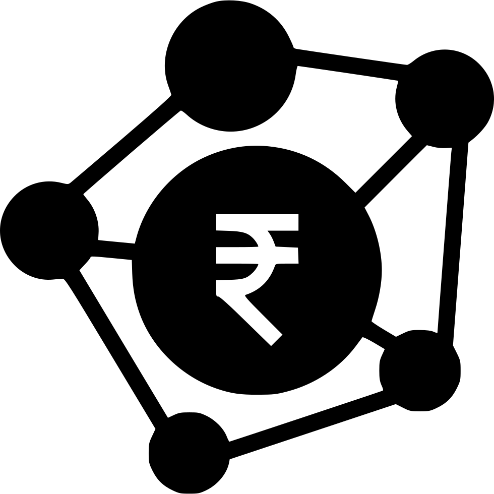 Coin clipart 5 rupee. Banking business connection indian