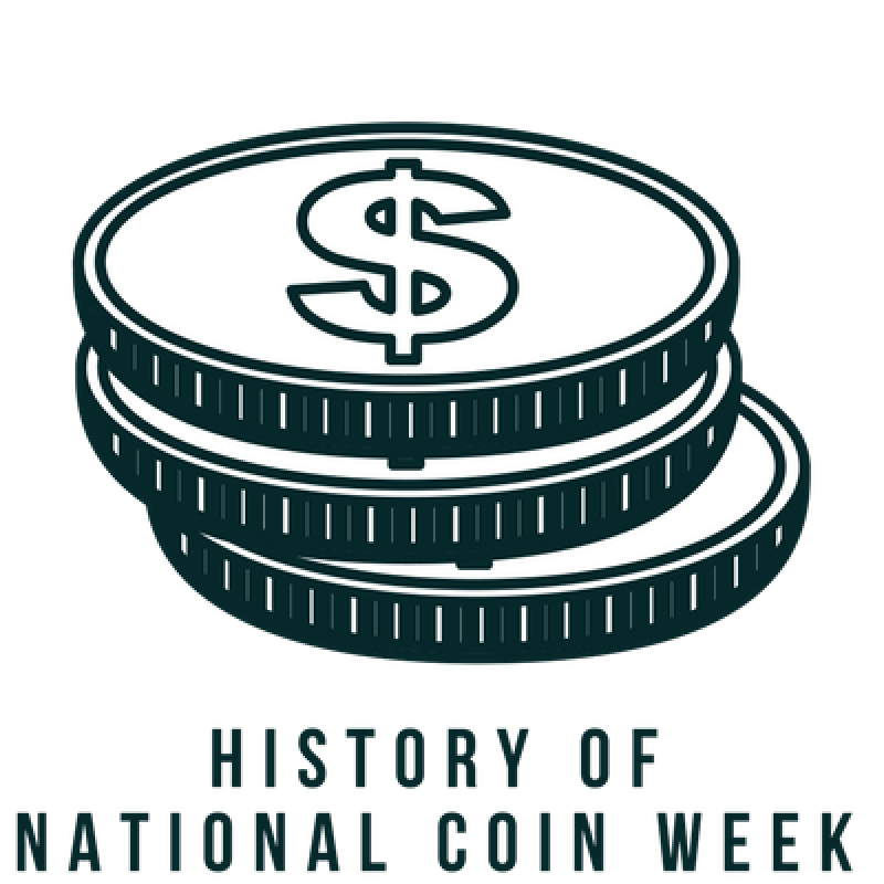 National week american numismatic. Coin clipart ancient coin