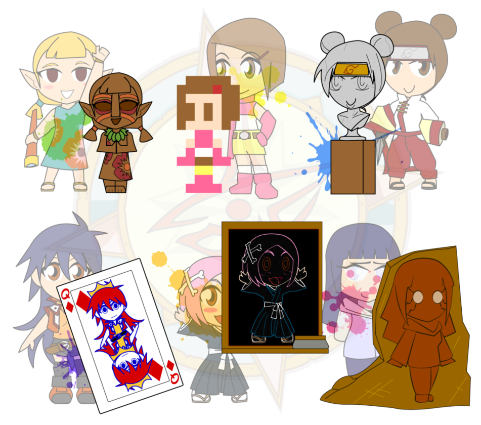 Coin clipart assorted. Chibis art gallery by
