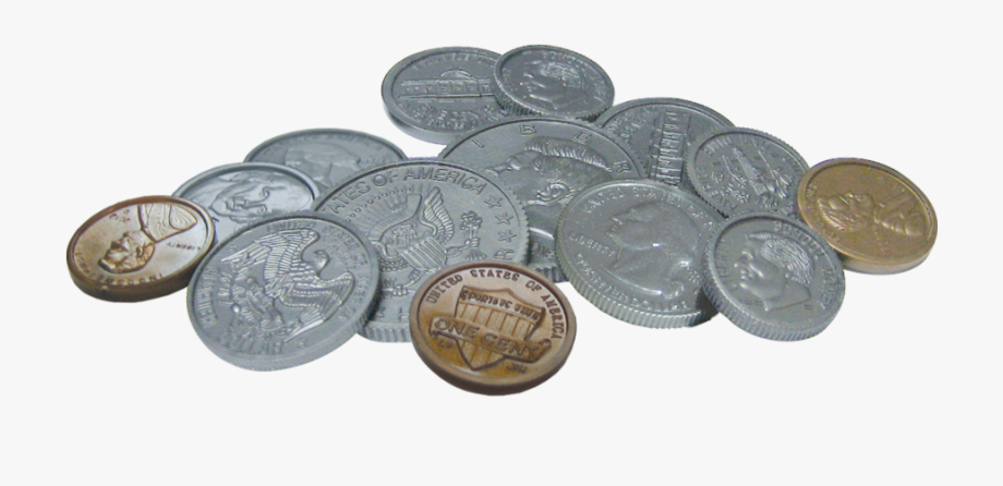 Pile of coins png. Coin clipart assorted