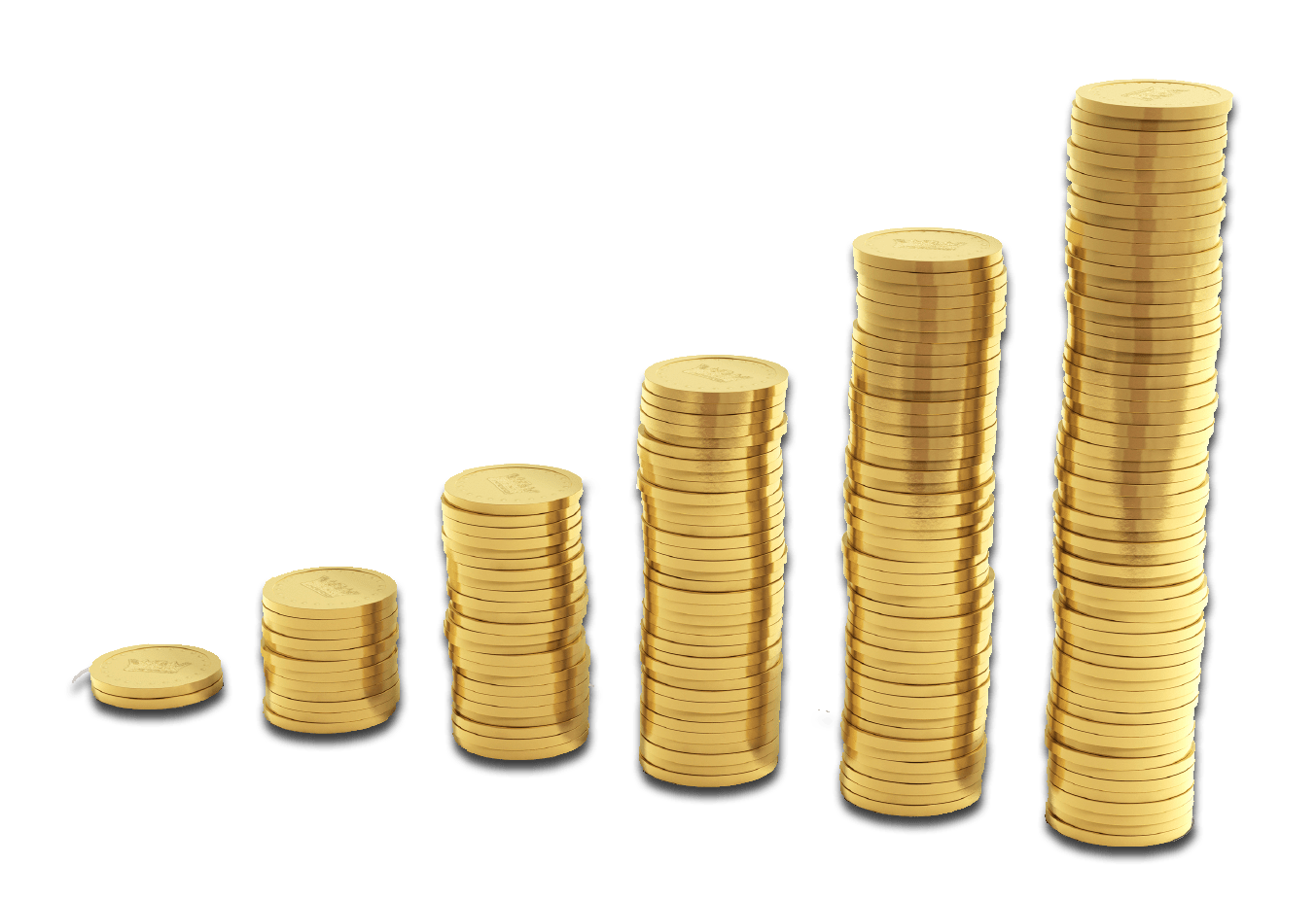 Coin clipart bill coin. Stacks of coins transparent
