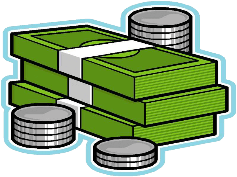 Learn money for kids. Coin clipart bill coin