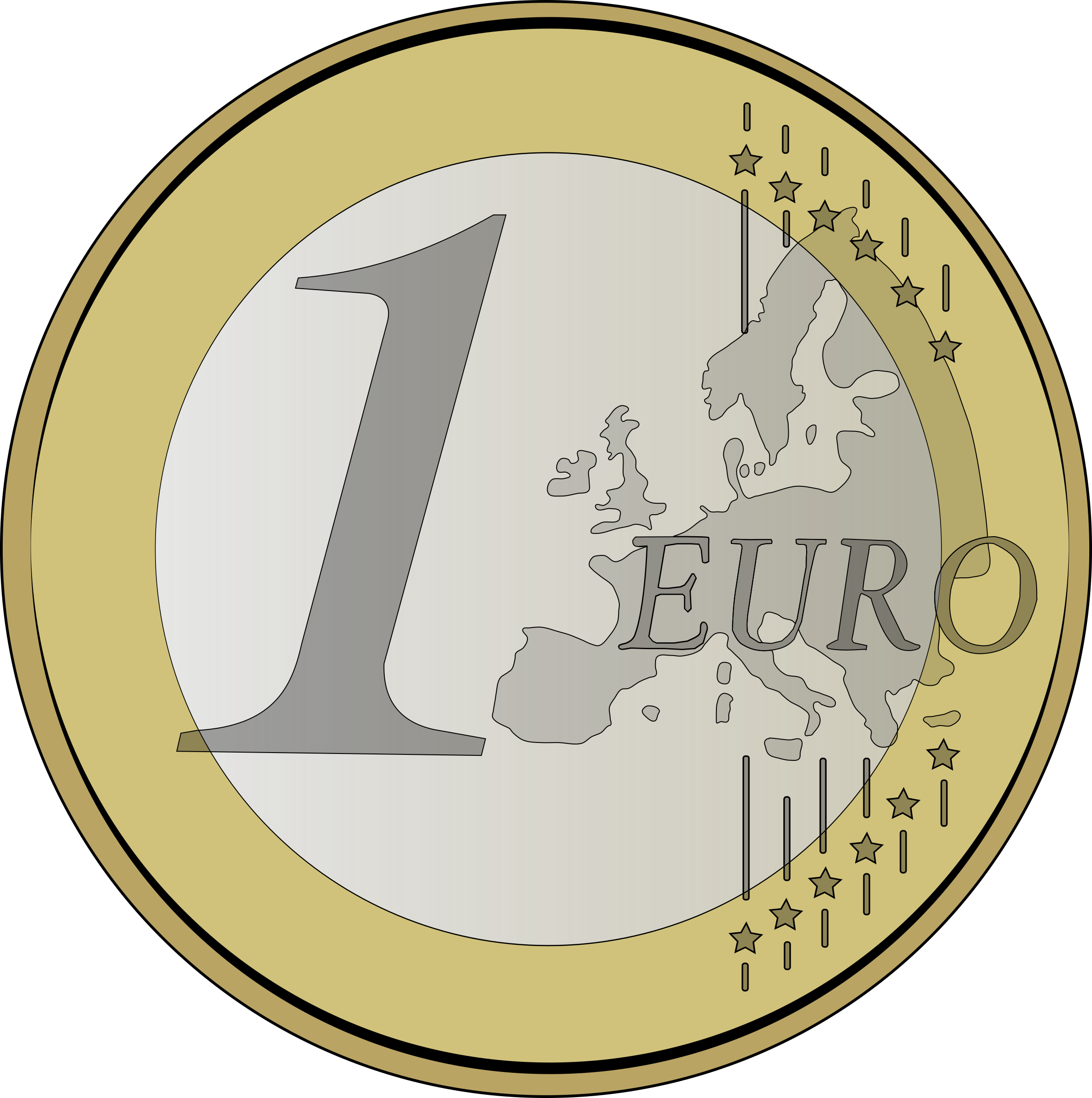 Coin clipart bill coin. Euro png images transparent