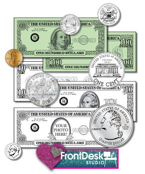 Coin clipart bill coin. Money bills and coins