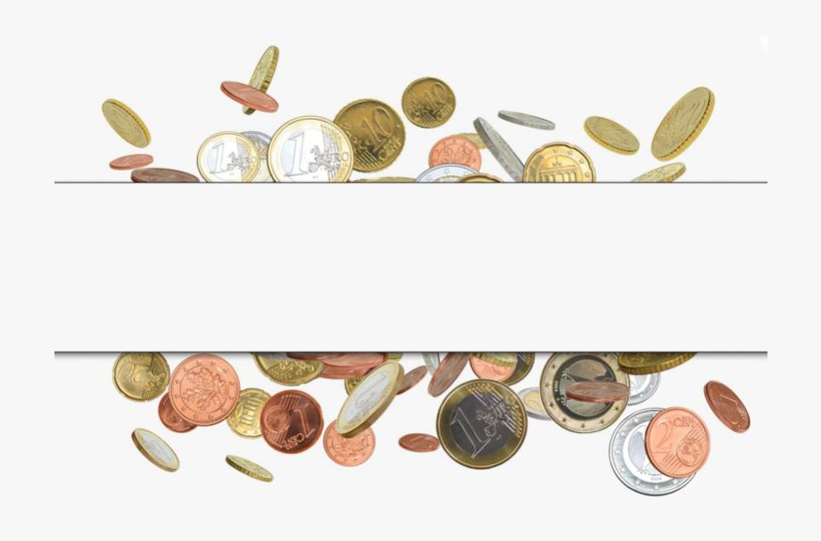 Money coin border gold. Coins clipart school finance