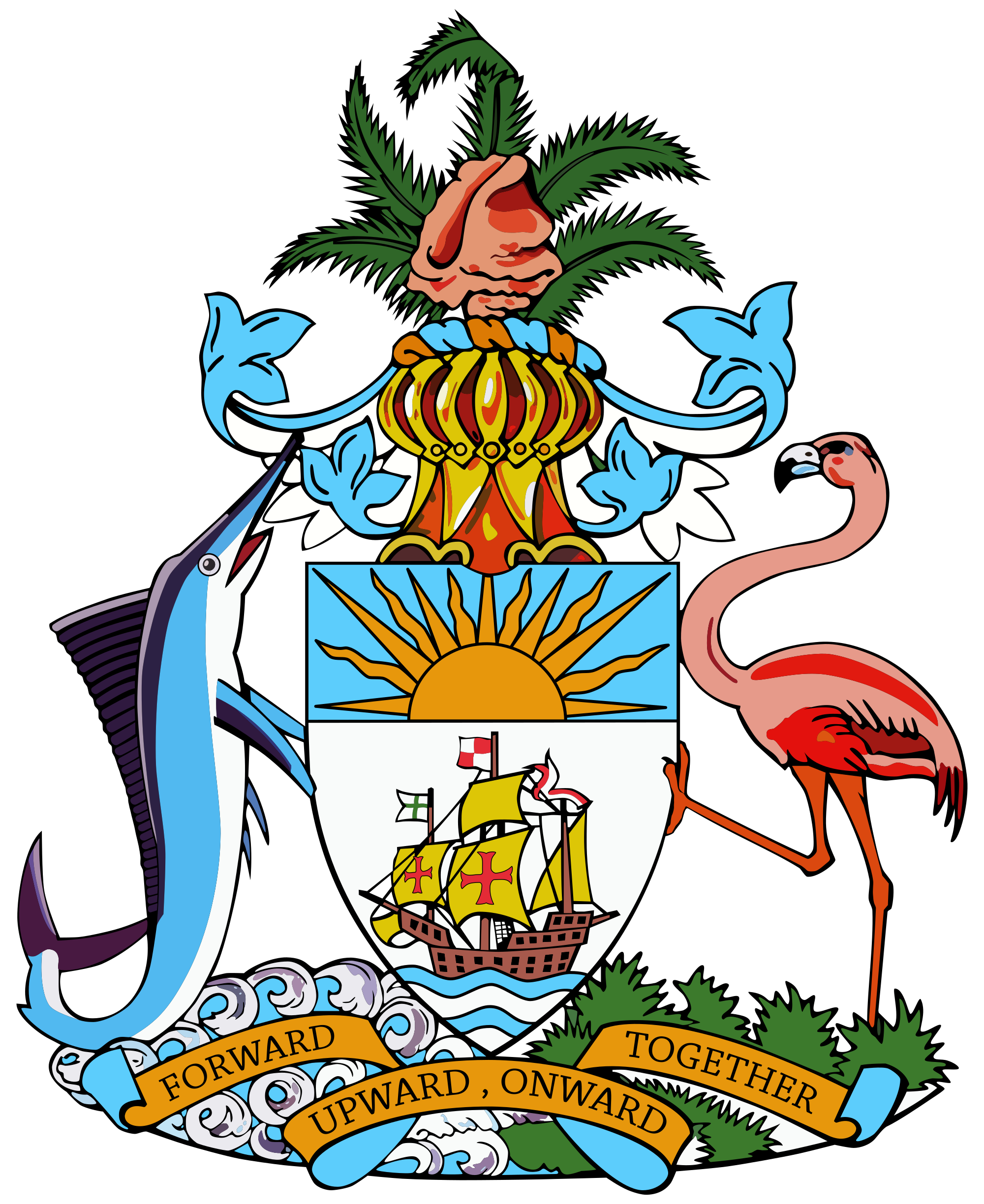 Coat of arms the. Government clipart building supreme court