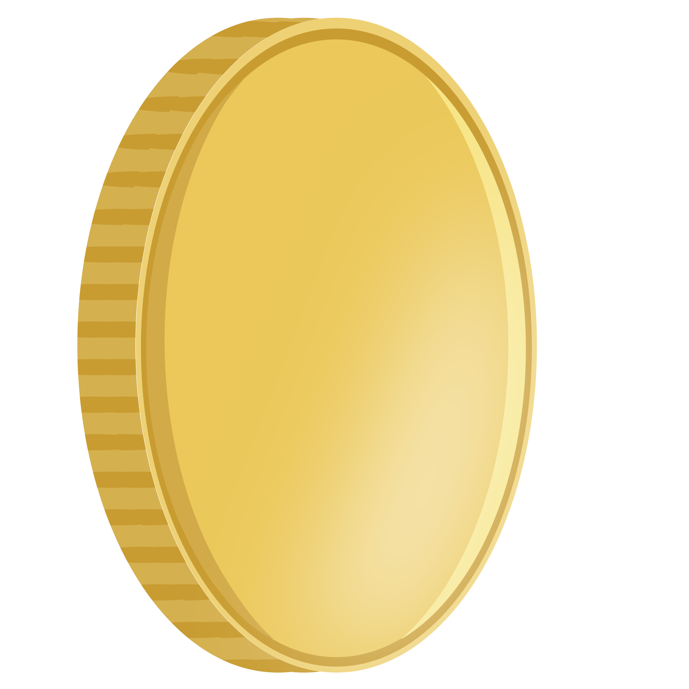 Gold clipart coin. Spinning big image png
