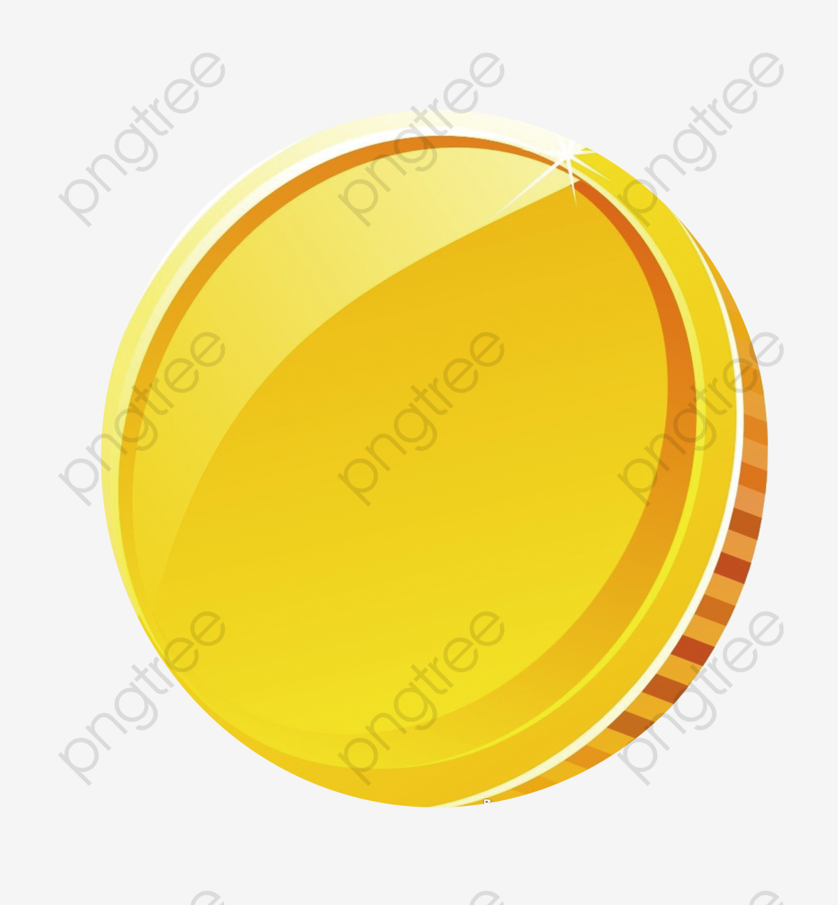 Gold decoration pattern . Coin clipart cartoon