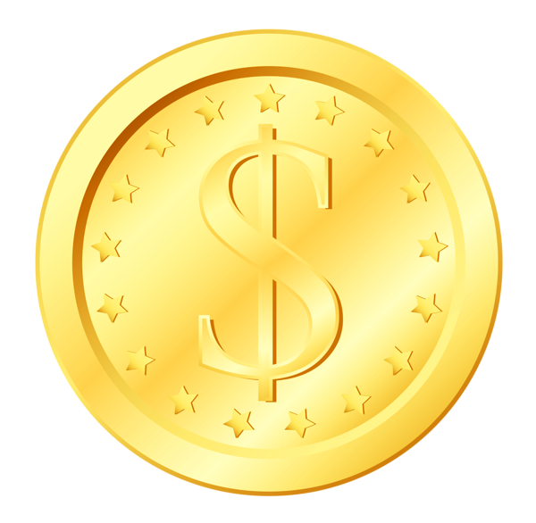 Pin by next on. Coin clipart clip art gold