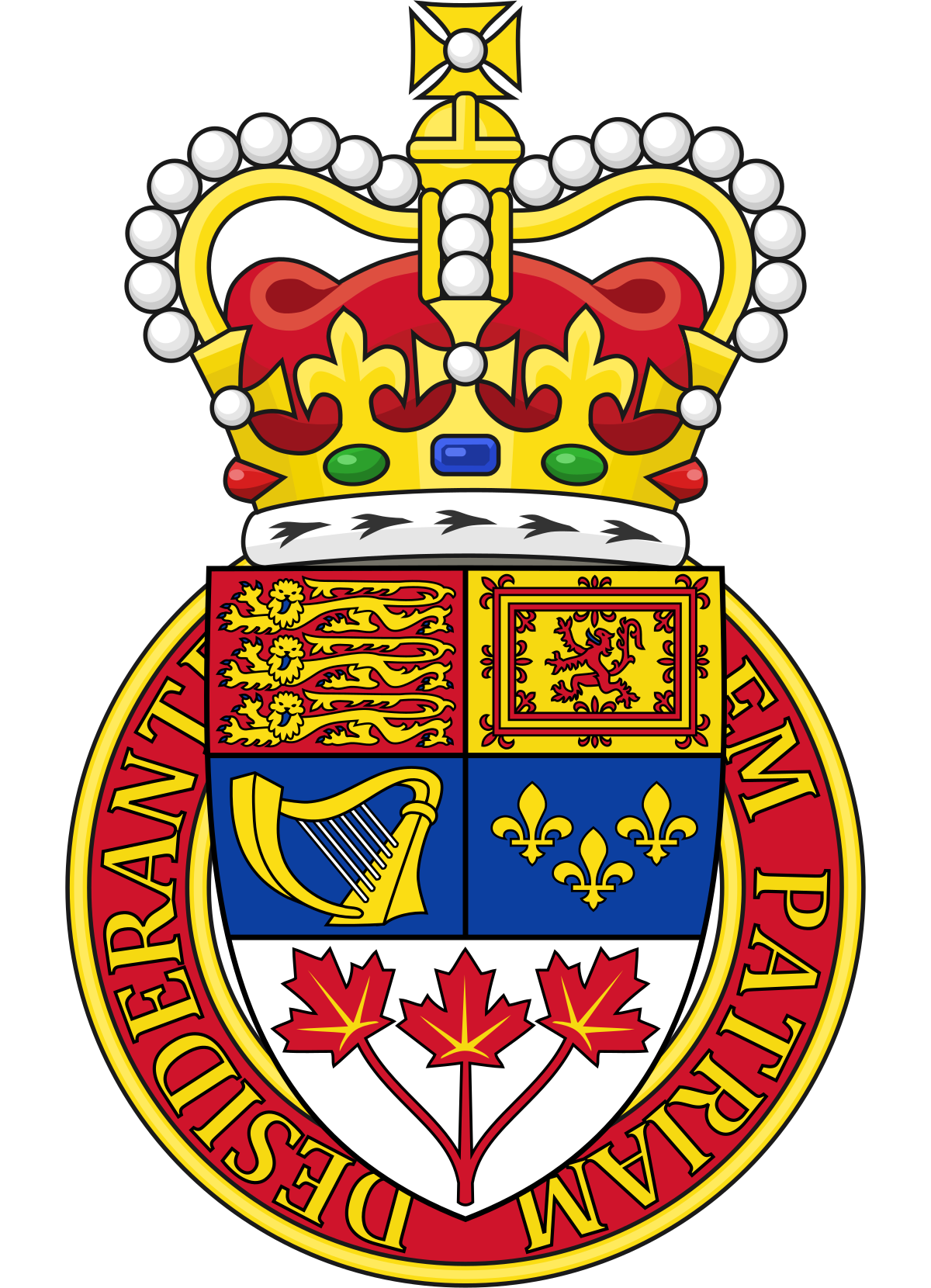 Canadian heraldry wikipedia . Shell clipart heraldic scallop