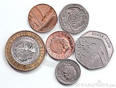 Coins clipart english. British station