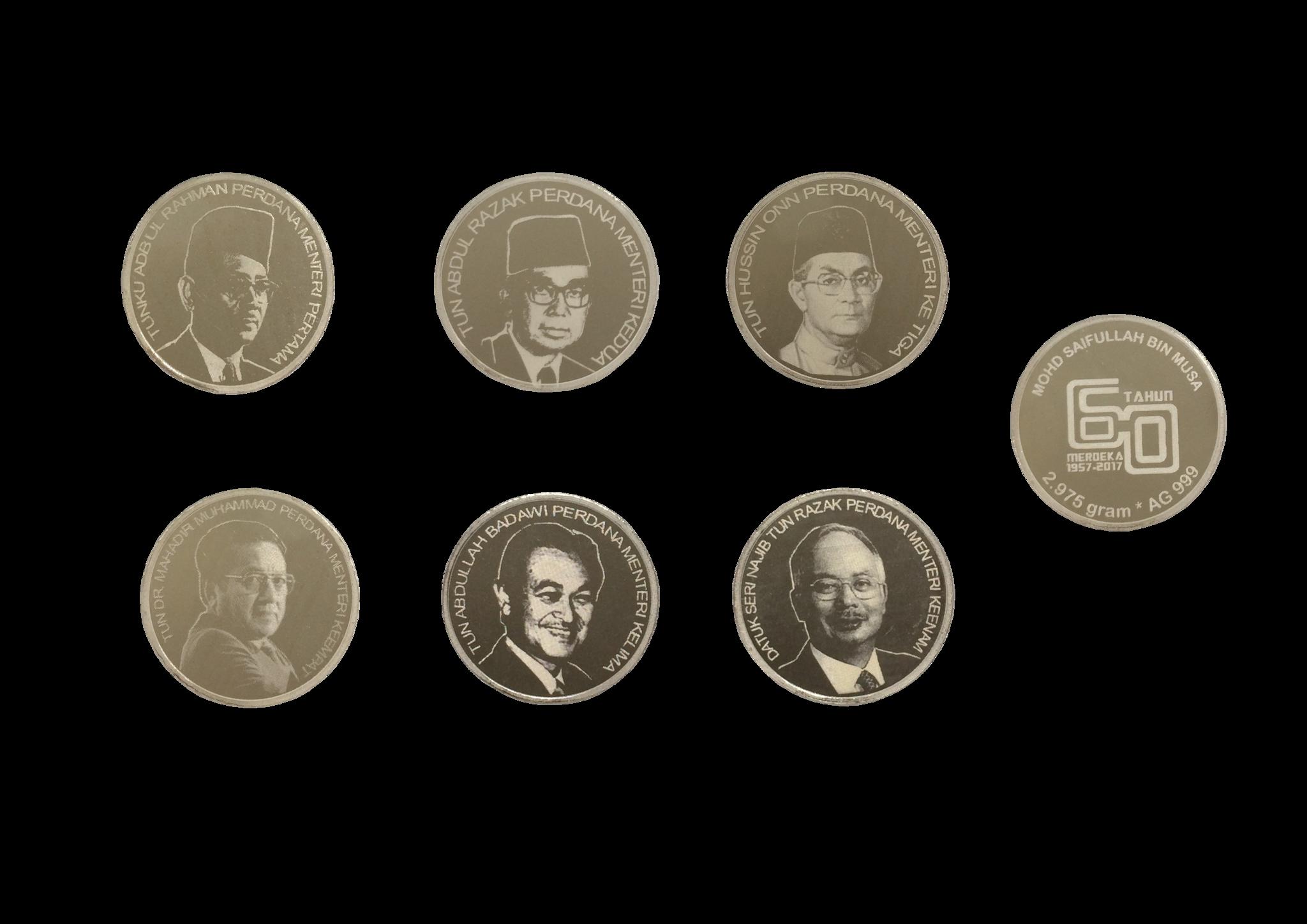 Coin clipart coin malaysia.  set prime minister
