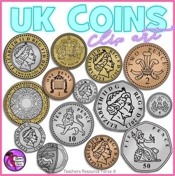 British uk clip art. Coins clipart english
