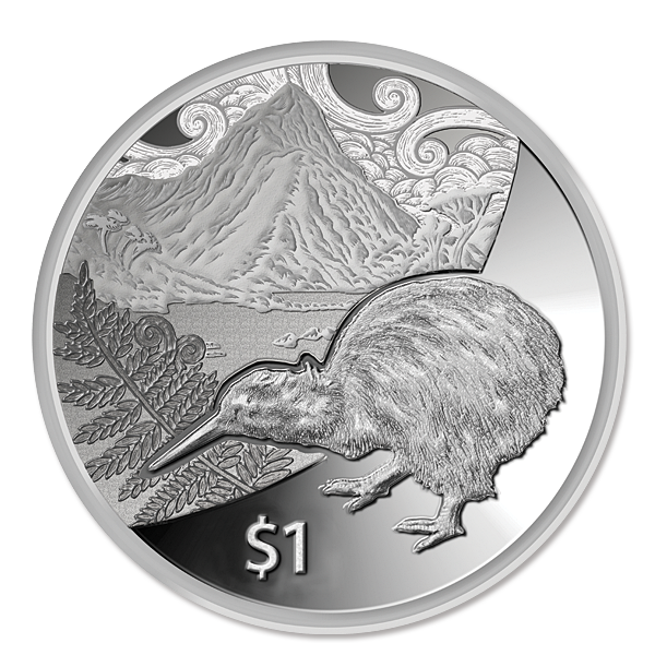 kiwi treasures silver. Coin clipart currency us