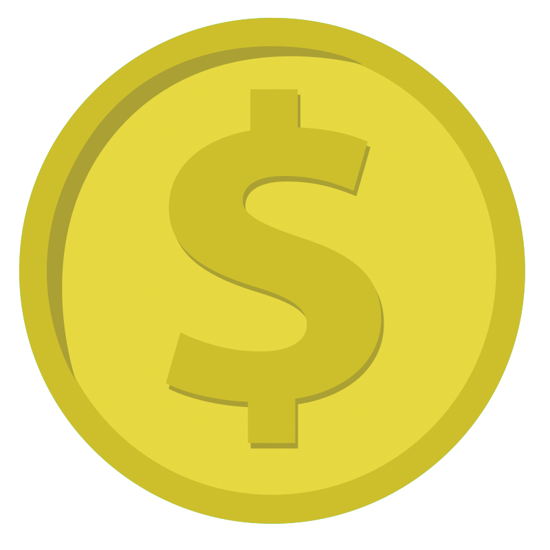 Coin dollar coin