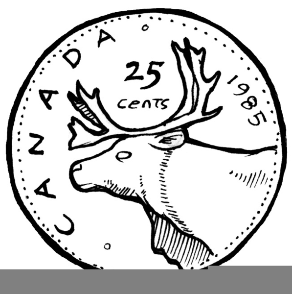coins drawing penny. Coin clipart drawn