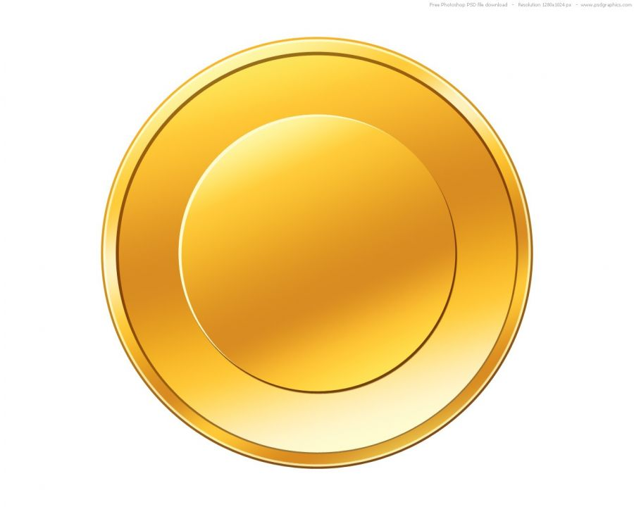 Free coins picture download. Coin clipart empty gold