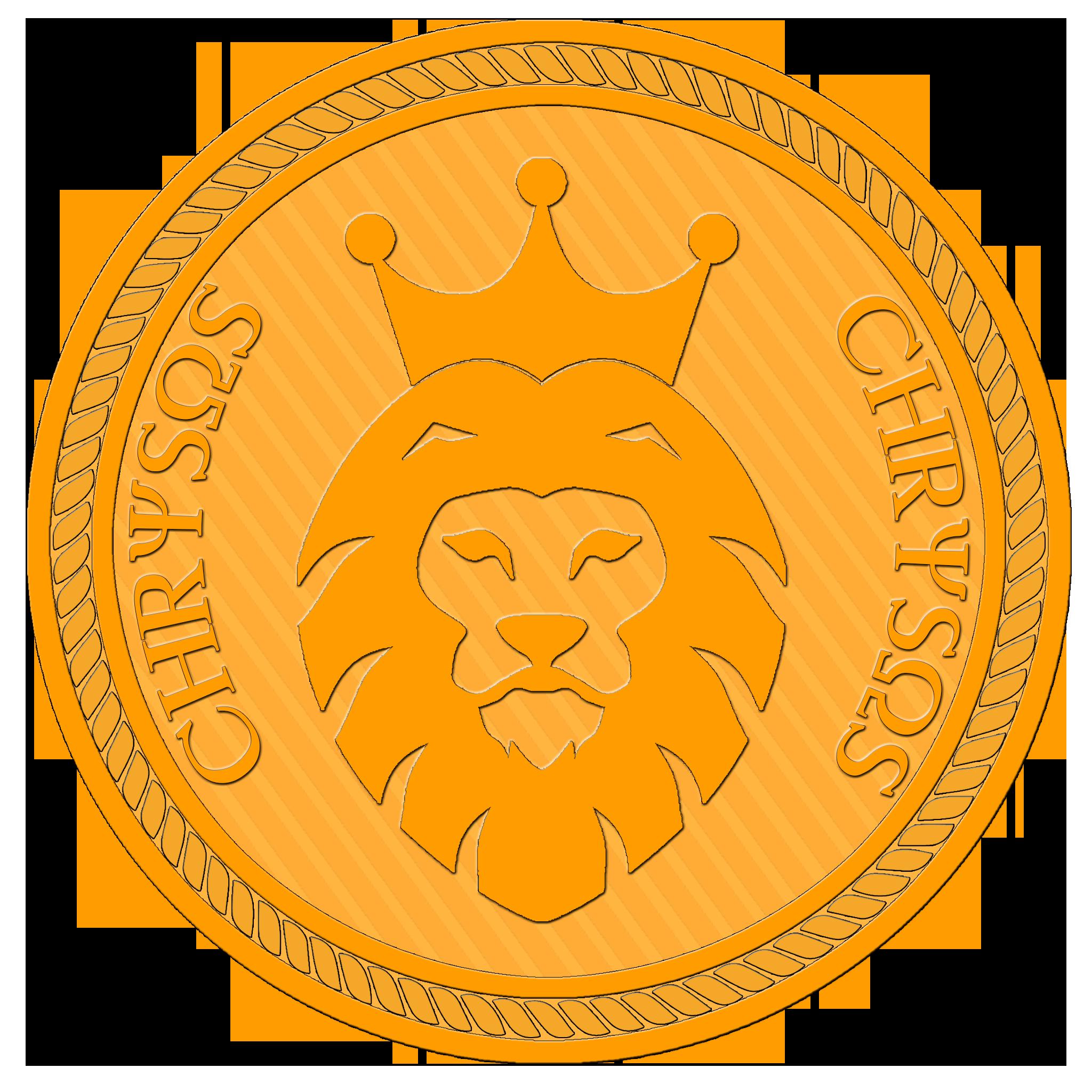 Chrysos future of digital. Coin clipart english