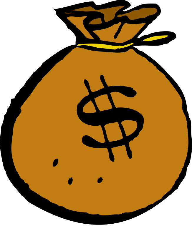 Melonheadz clipart money. File mcol bag svg