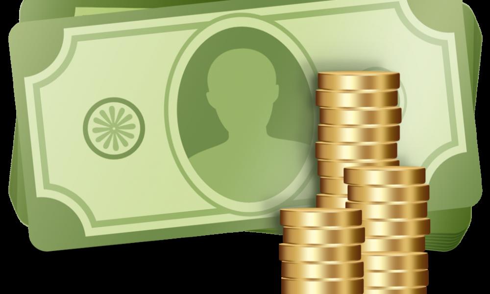 Coin clipart expense. Management startup raises funds