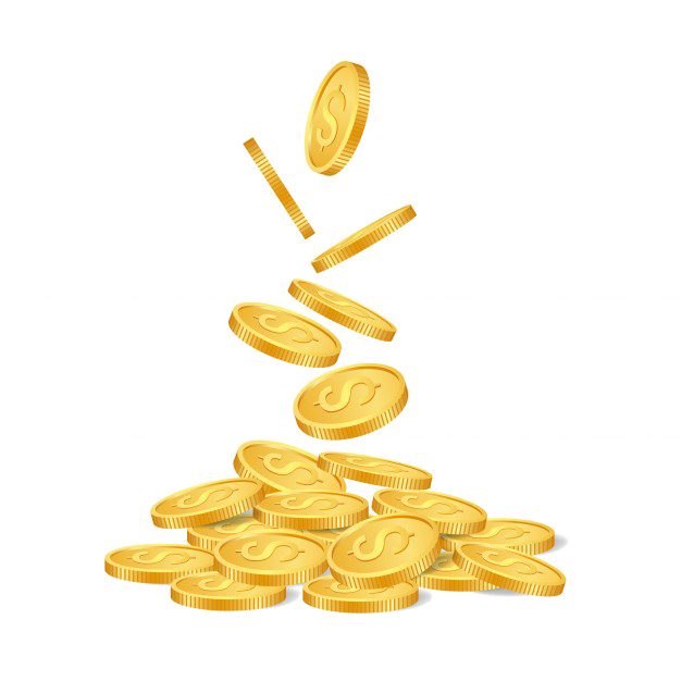 Coins png photo mart. Coin clipart falling