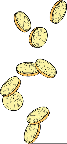 Coins free images at. Coin clipart falling