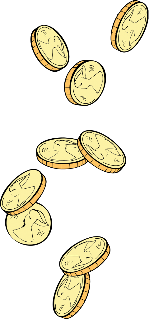 Coin clipart falling. Index of wp content