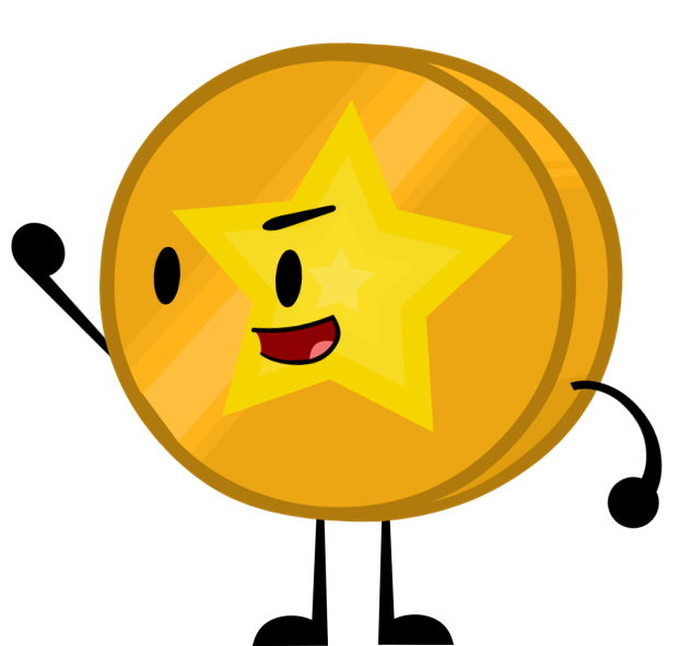 Star coin twisted turns. Hurt clipart abrasion