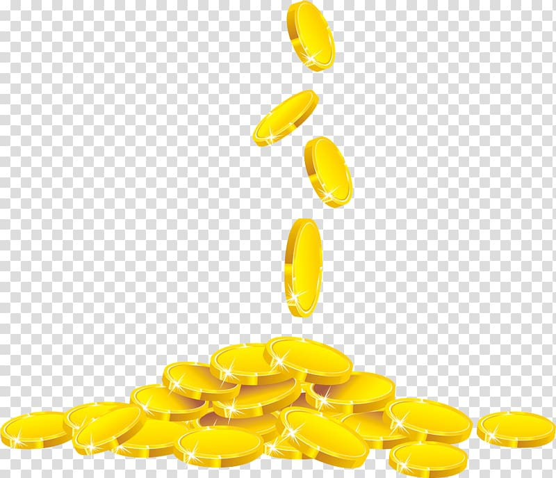 Illustration of gold coin. Coins clipart fifa