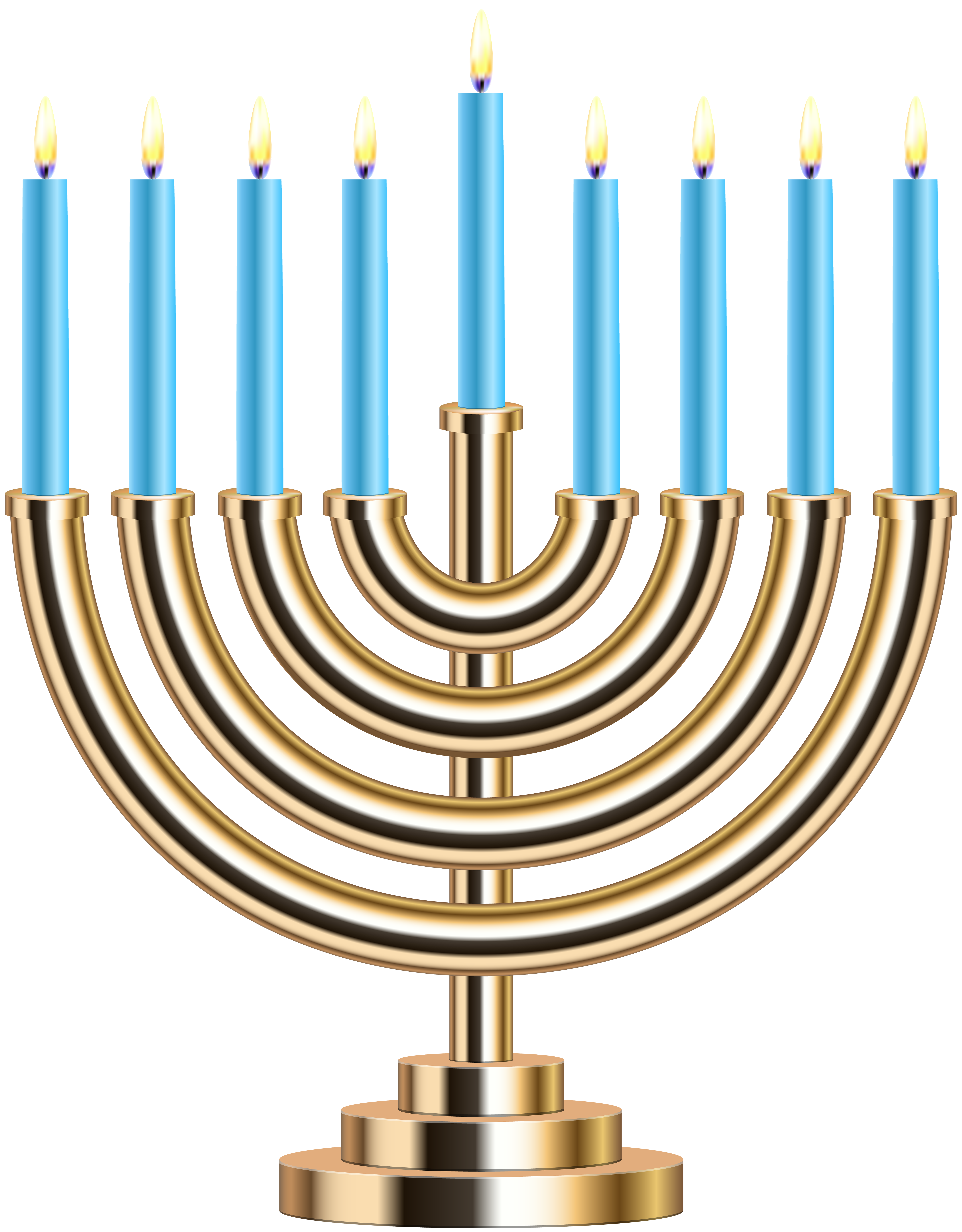 Hanukkah clipart chrismukkah. Gold menorah png clip