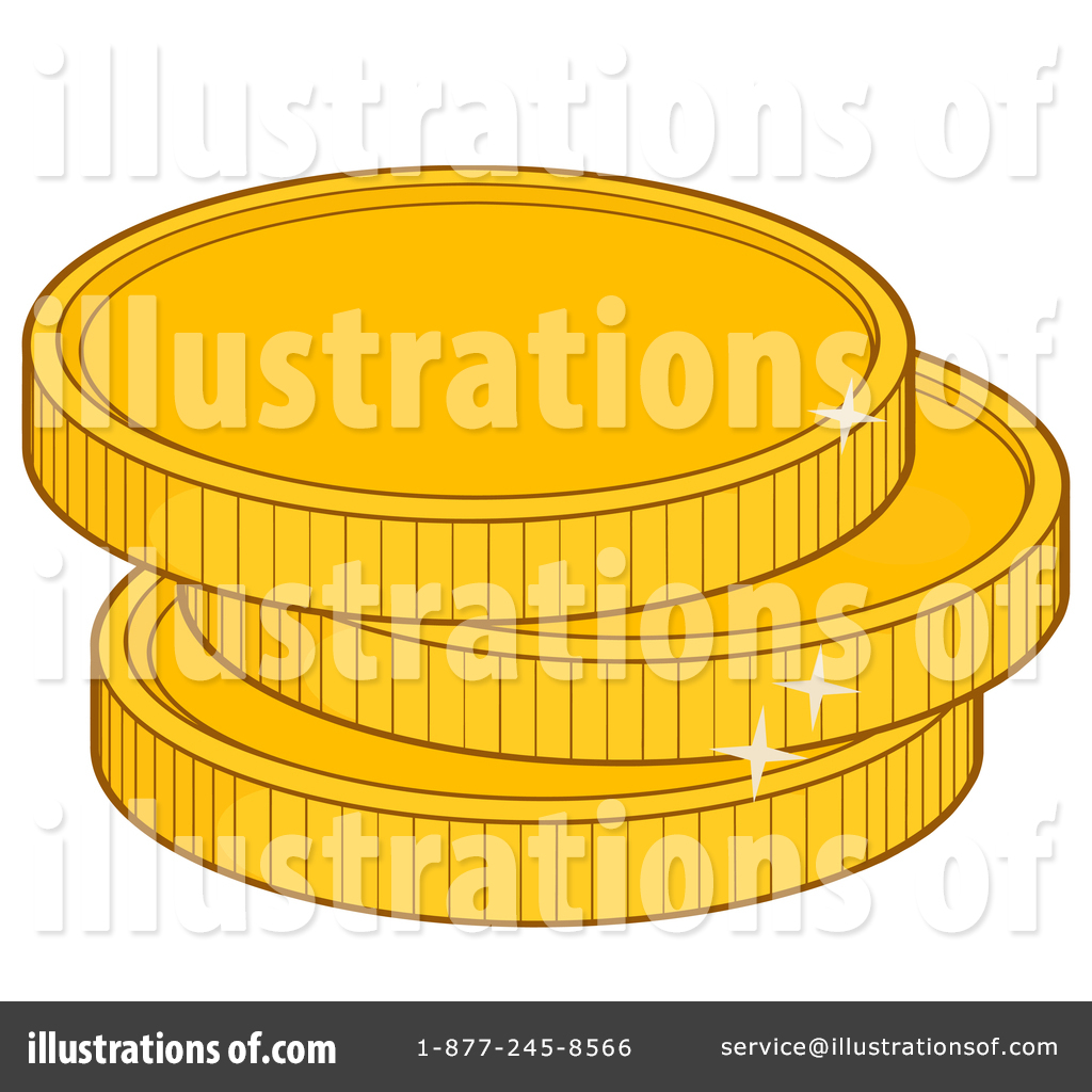 By hit toon . Coin clipart illustration