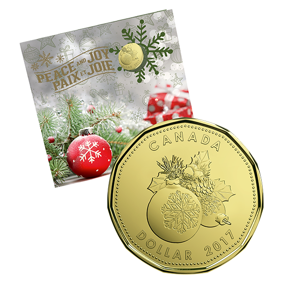 Coin clipart loonie. Holiday gift set special