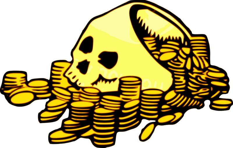 Colin turner s f. Coin clipart loose change