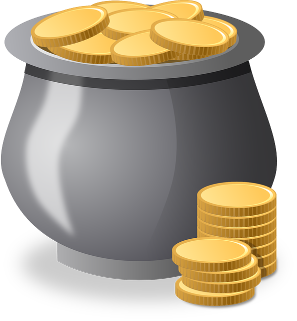 How to become a. Coins clipart lot money