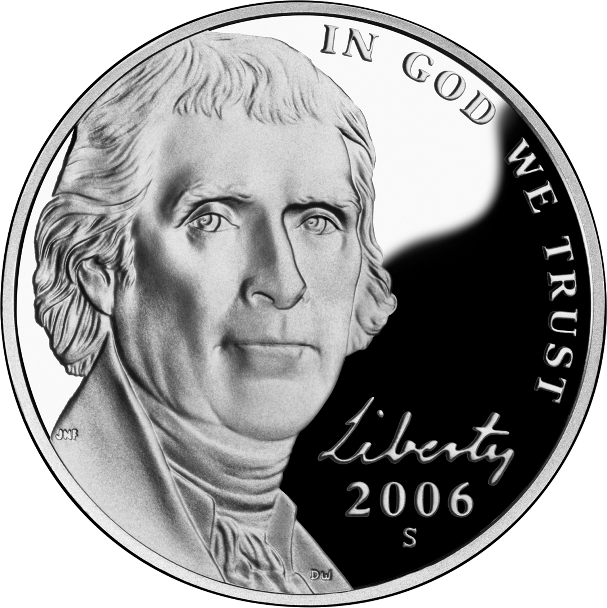 Economy clipart dollar cent. File nickel proof obv